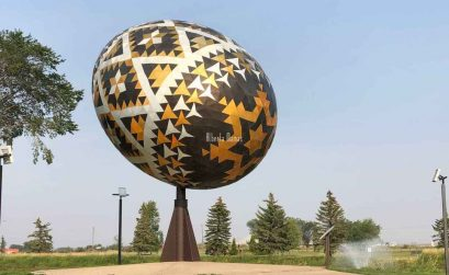 Worlds Largest easter egg